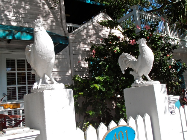 Rooster Finials