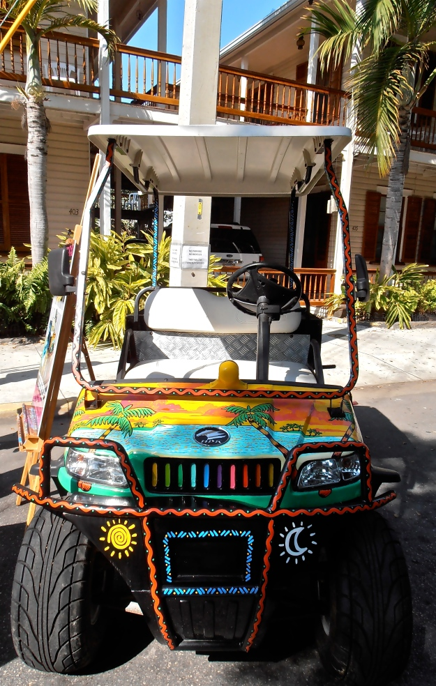 You could go for an equally cheerful buggy instead...