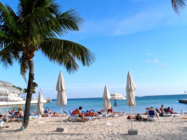 A Key West beach...aaaaaah...