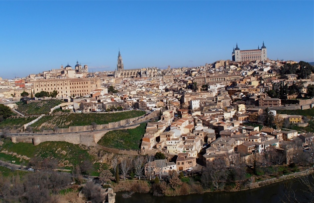 "This is the ""classic"" view of Toledo"
