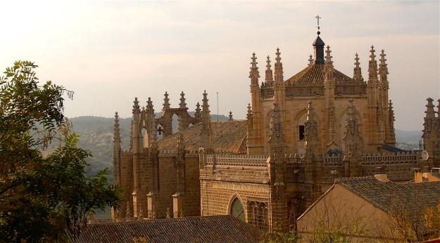 A distant view of the Monastery San Juan De Los Reyes