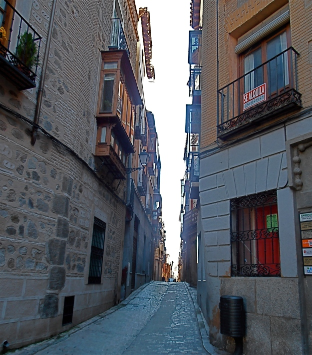 View down Calle De La Plata, in the other direction