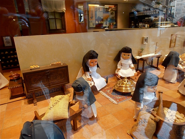 Oh, how they toil, the little nuns!