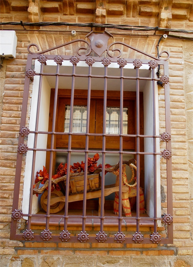 Toledo Window With Wheelbarrow
