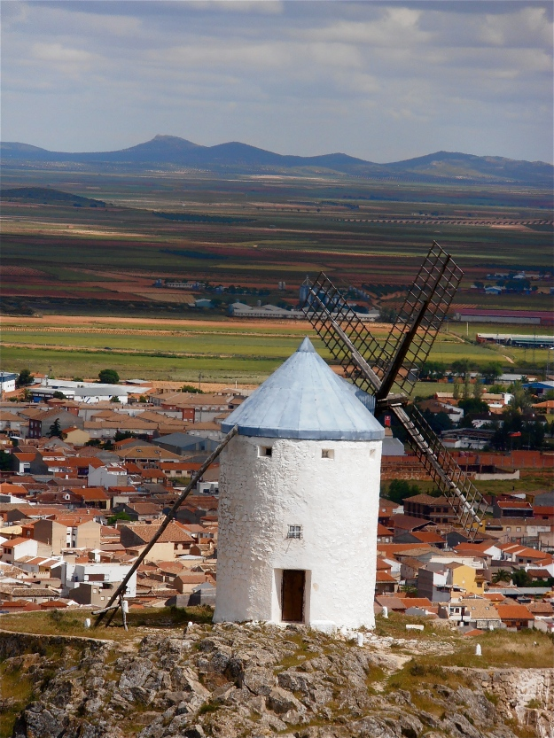 As a backdrop, Consuegra has its merits...