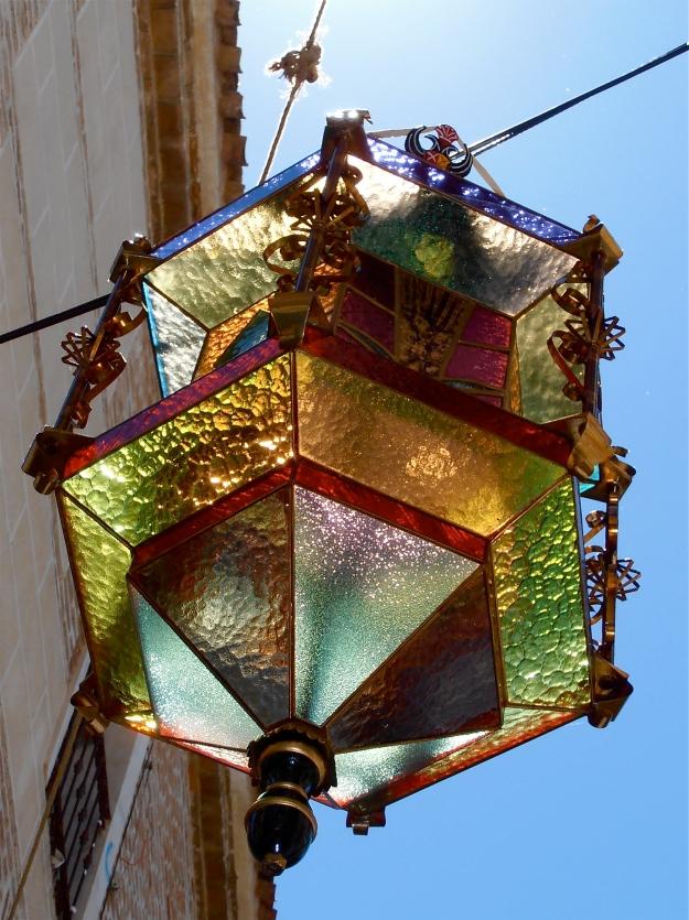 Toledo Lantern Close-Up