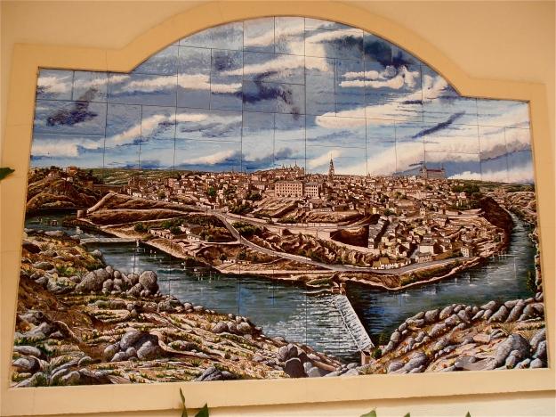 Tile Mural of Toledo