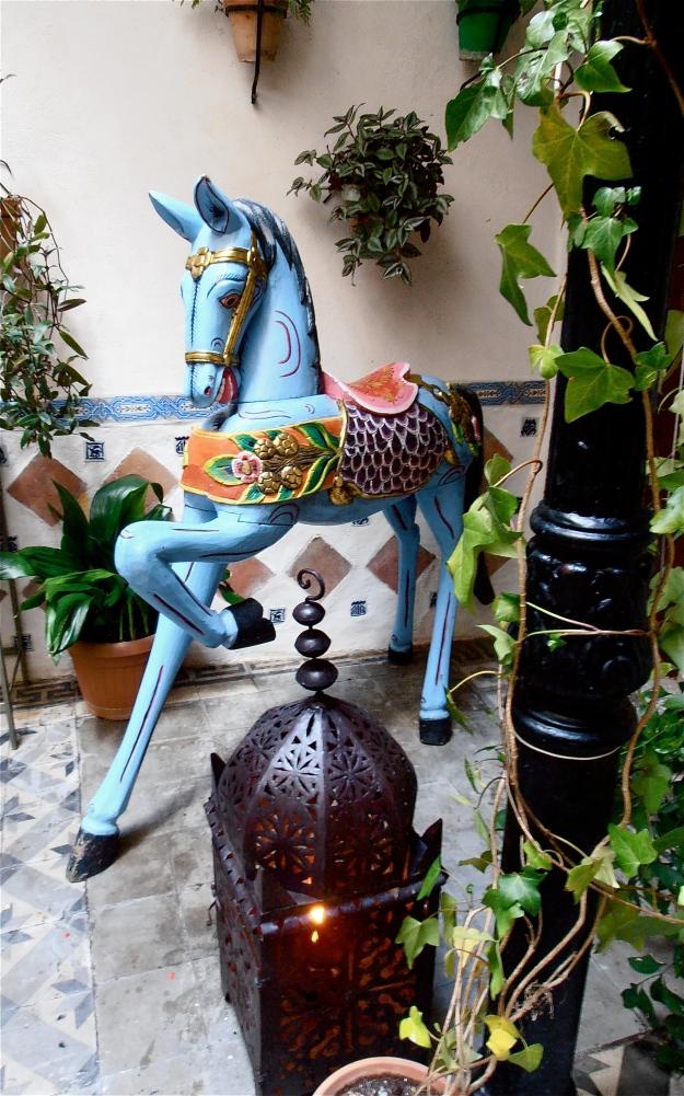 Toledo Patio Horse