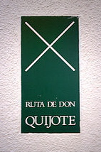 The sign to look out for if you're following Don Quixote's Route