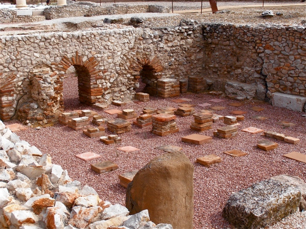 Part of an ancient Roman residential area