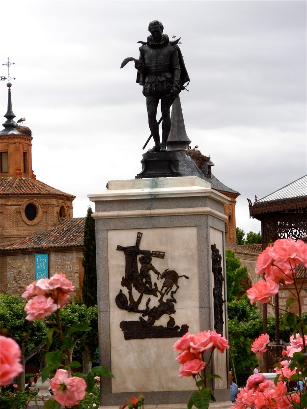 Cervantes in Alcala de Henares