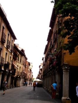 Alcalá's main street