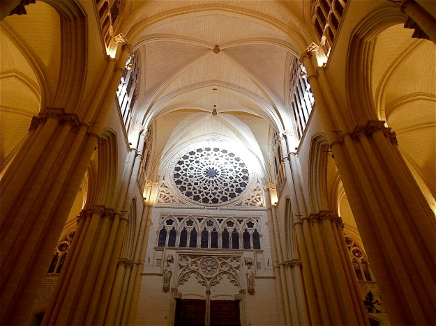 Toledo Cathedral interior