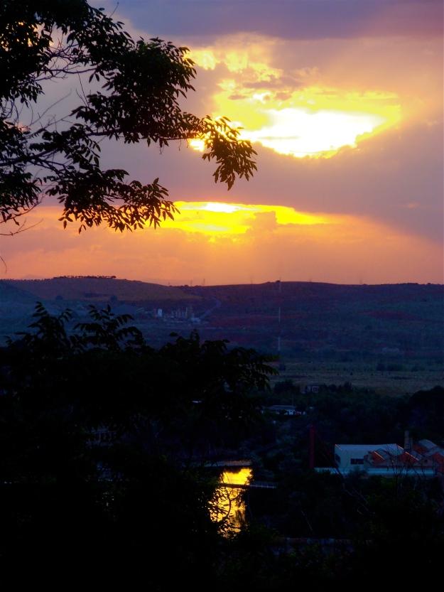 Toledo Sunset