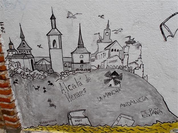 Mural: Alcala De Henares