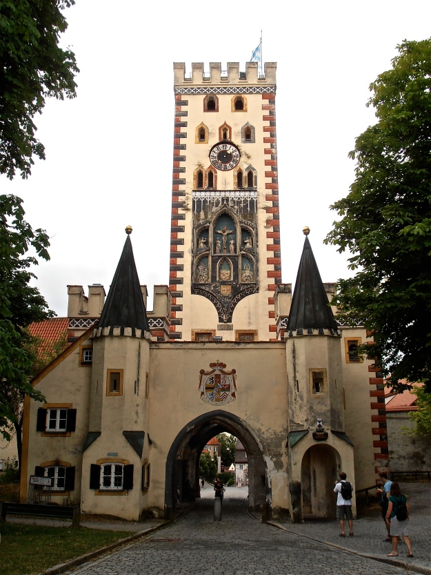 One of the old town gates