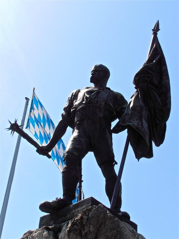 The Blacksmith of Kochel - I've always loved this statue.