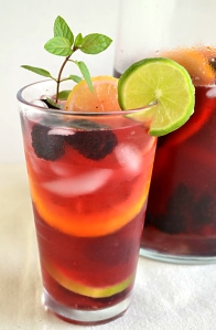 Tinto De Verano - A Spanish summer favourite. It's kind of like Sangria, but with less alcohol and far more refreshing