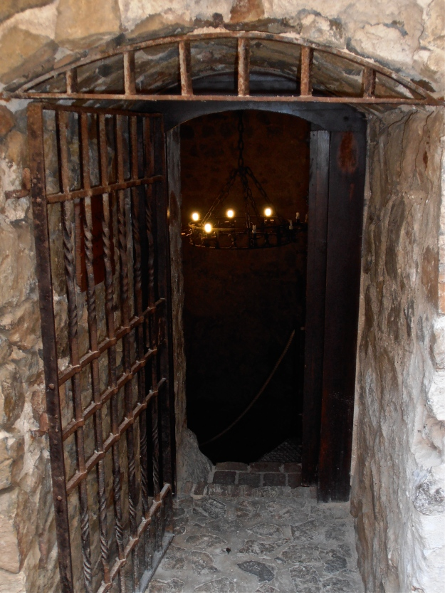 ...and the entrance to a dingy dungeon inside Consuegra castle