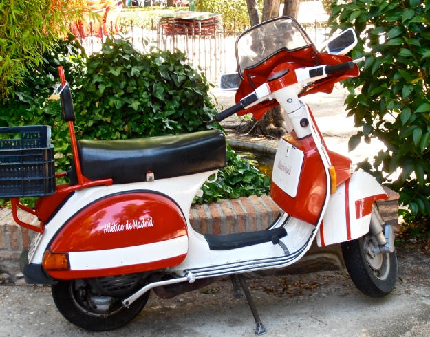 Real Madrid Vespa