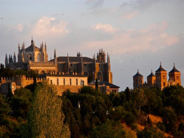 Toledo at sunset
