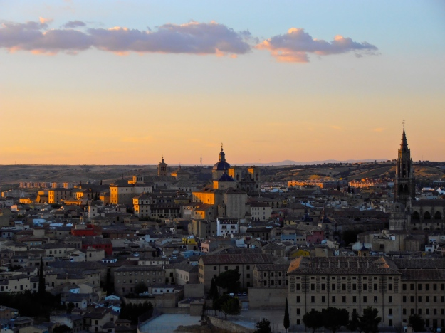 Toledo at sunset