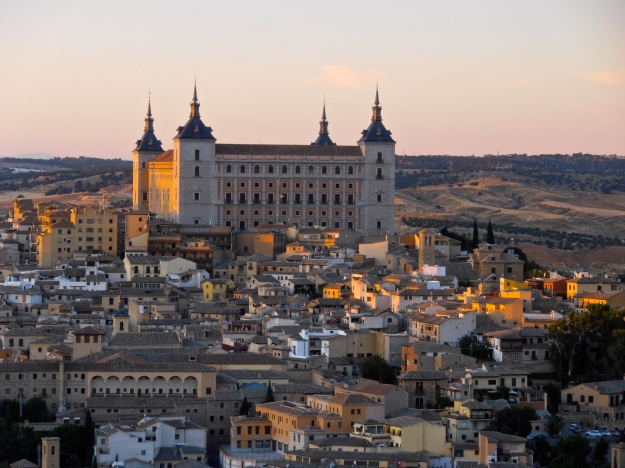 Toledo Alcazar Sunset