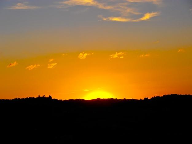 Parador sunset