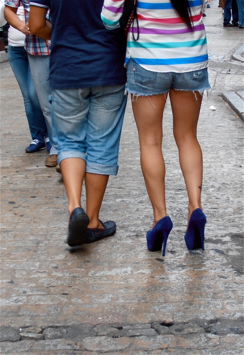 How. Do. People. Walk. In. These. Things. HOW?!
