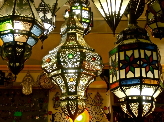 "Toledo is replete with ""Arabian"" lamp shops"