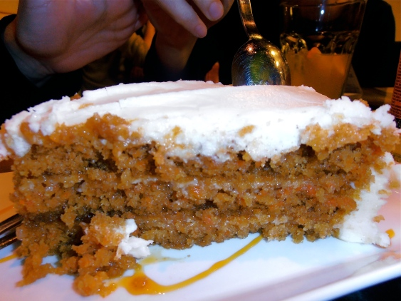 La Malquerida has probably the best carrot cake I've eaten anywhere. And I've eaten a lot of carrot cake in my life...