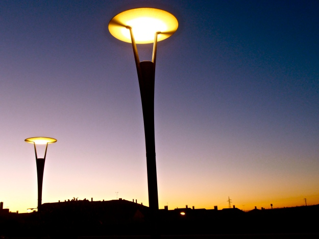 Sunset & Street Lamps 2