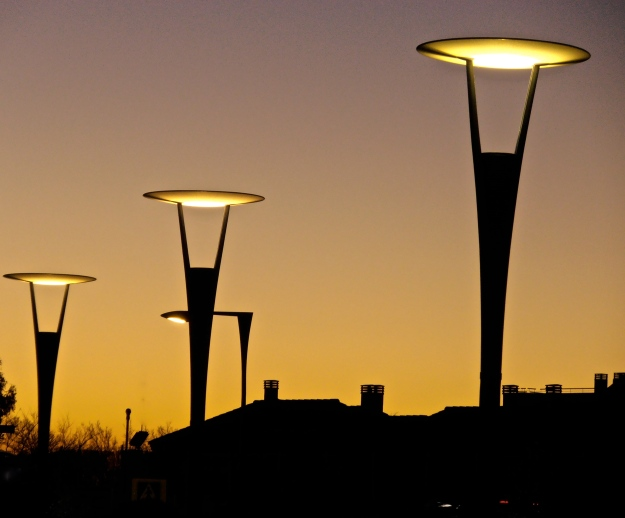 Sunset & Street Lamps 3