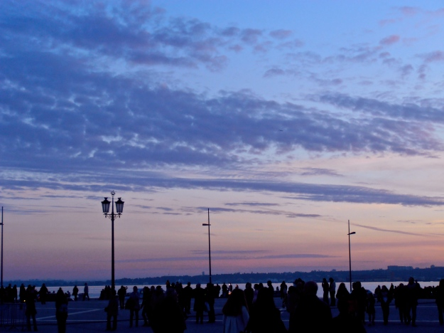 Lisboa at dusk