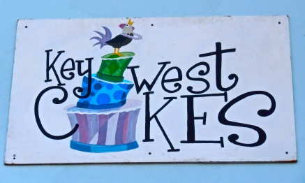 Key West Cakes Sign