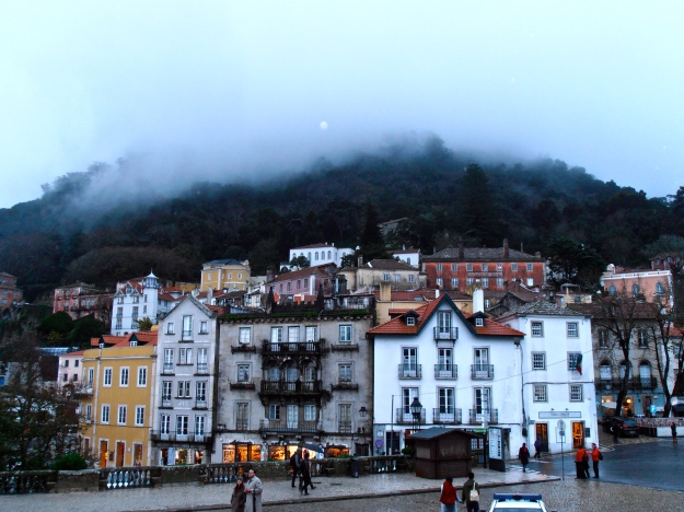 Sintra at nightfall