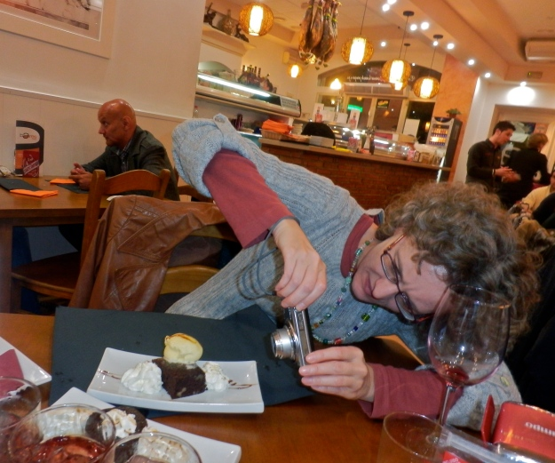 Seducing a dessert