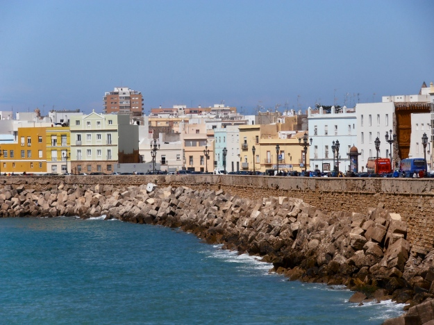 Cádiz seaside walk