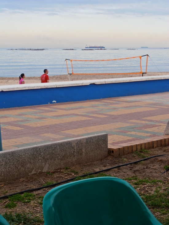 And for an extra splash of colour, a shot taken from a café on Algeciras seafront.