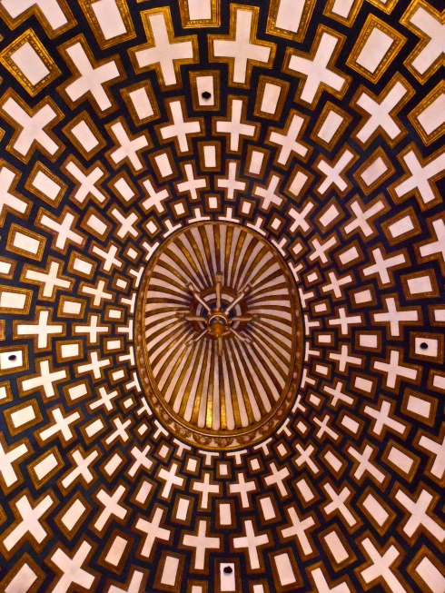 Ceiling close-up