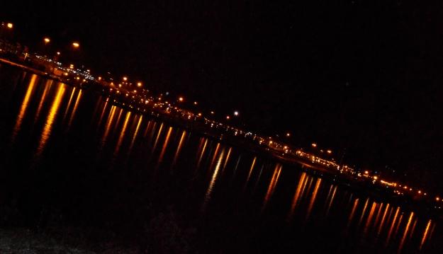Algeciras harbour by night