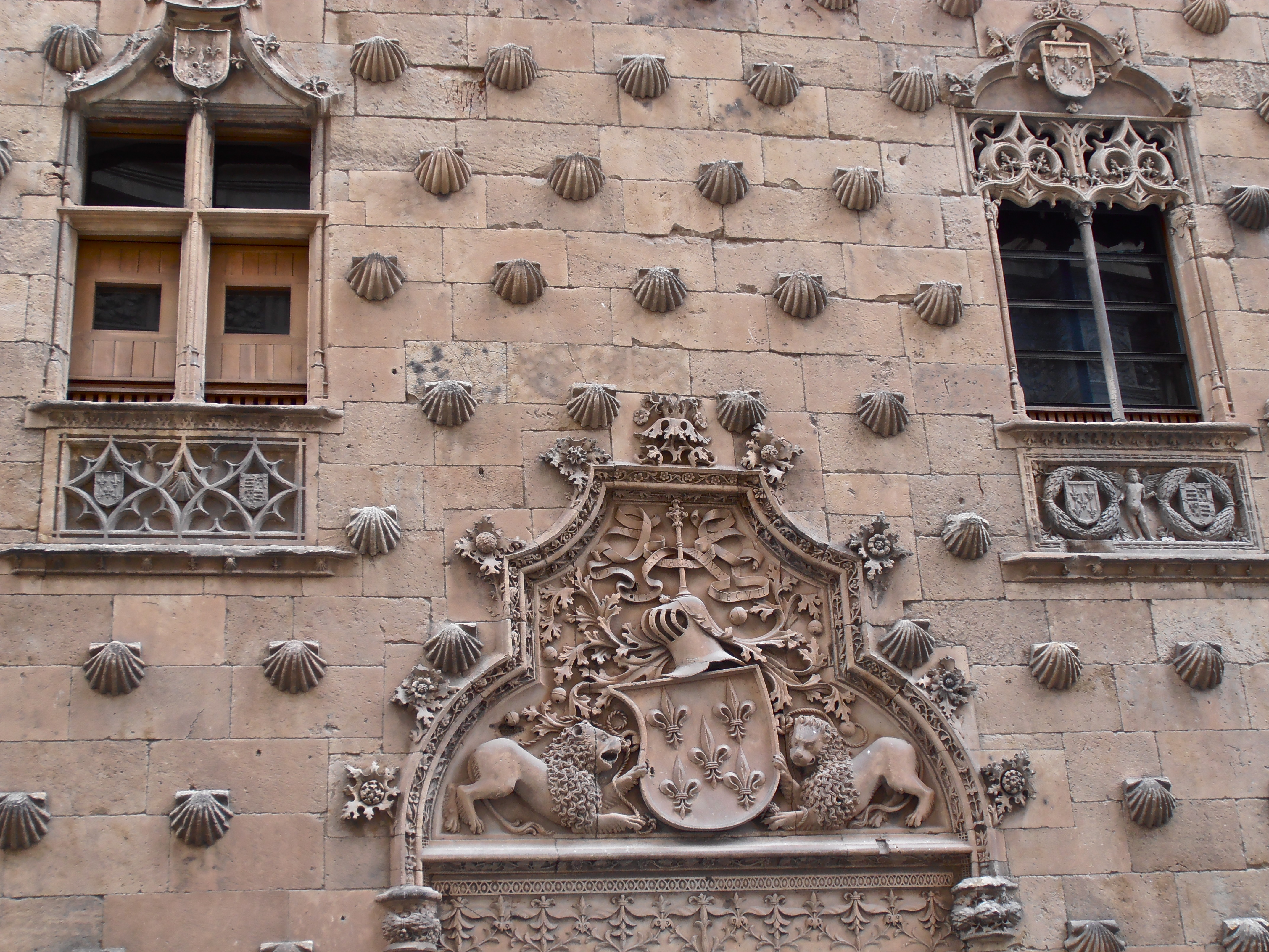 Look Up Look Down: Shell House, Salamanca  Lady Of The Cakes
