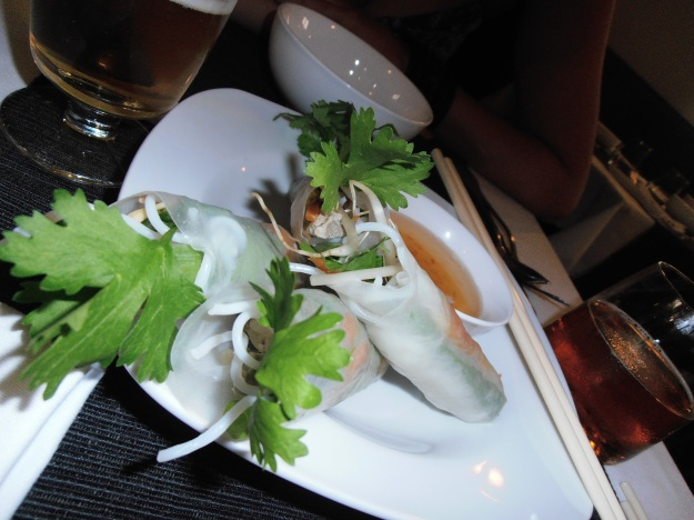 Spring rolls, the non-fried version