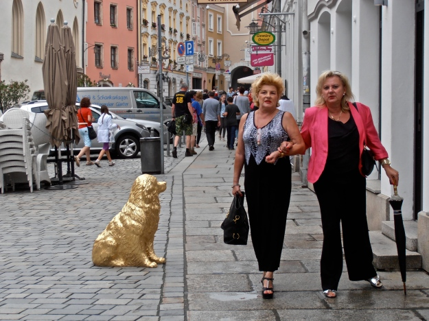 Golden Dogs in Passau