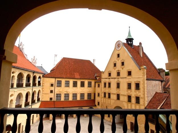Burg Trausnitz Innenhof
