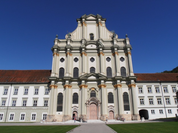 Fürstenfeld Abbey Church, Exterior