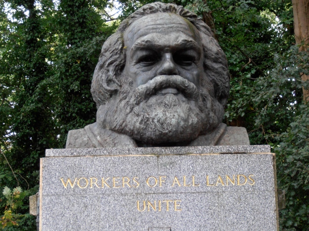 "Probably the cemetery's most famous ""resident"" - Karl Marx was buried in 1883."