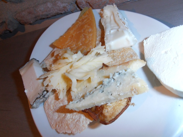 Cheese tapa