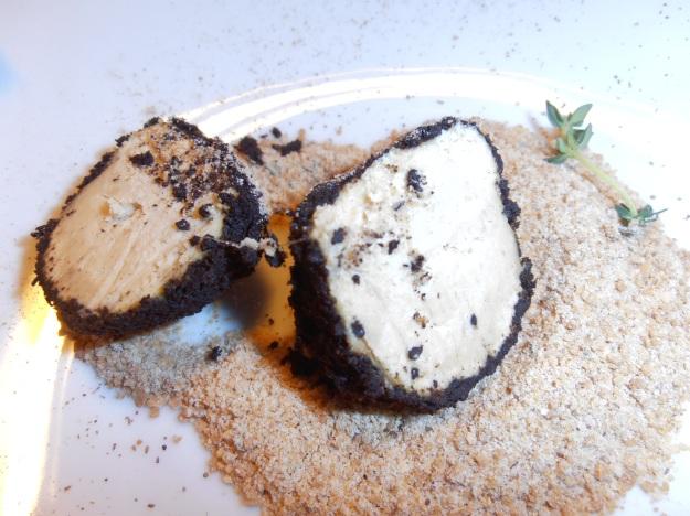 Foie gras truffle