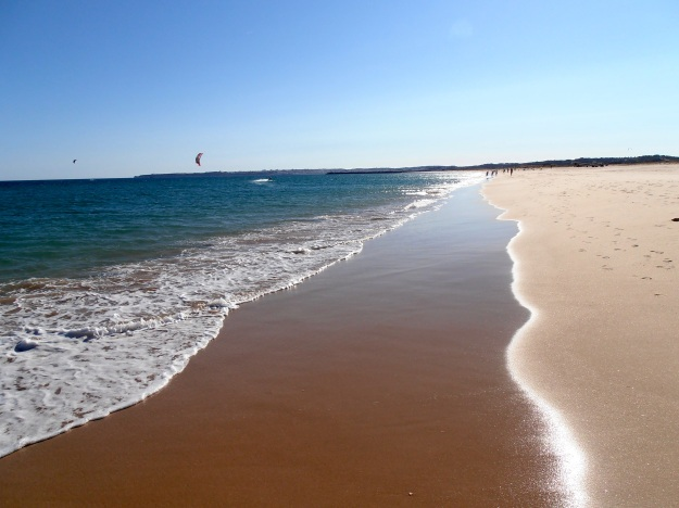 Alvor beach, which we DID return to. Frequently.